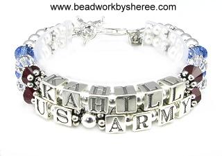 Two Strand Deployment Bracelets